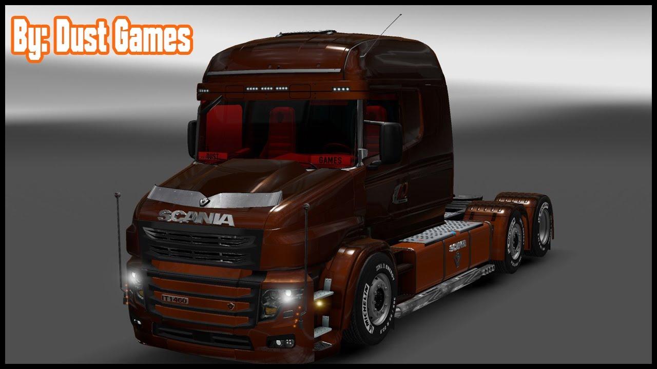 V8 illegal reworked truck v5 0 simulator games mods download - Ets 2 Mod Scania Illegal T V 1 0 Para V 1 27 X By Dust Games