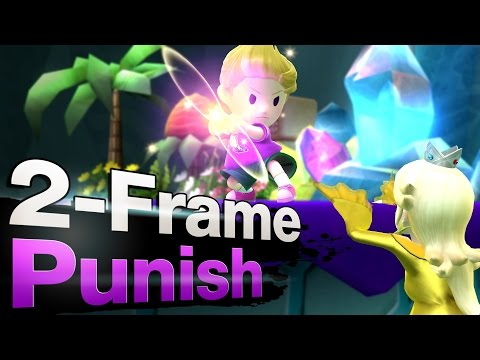 Smash 4 Wii U - The 2-Frame Punish