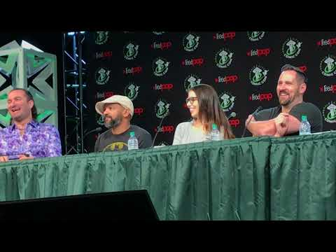 ECCC Laura Bailey, Zach Callison, Phil Lamarr, Jeremy Shada, & Travis Willingham Panel Voice Acting