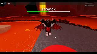 how to beat the bugged eggwick boss roblox 2019 egghunt