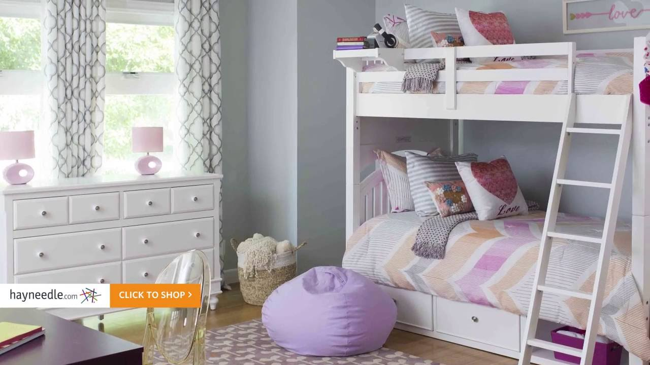 Pastel Bedroom Ideas Kids Bedroom Ideas A Playful Pastel Girls Room Hayneedle