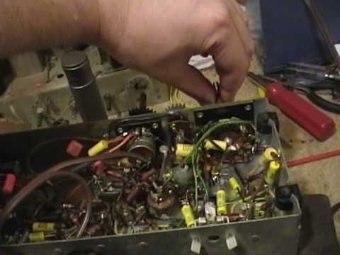 GE 212 radio restoration p2o7