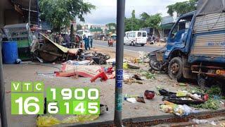 Tai nạn kinh hoàng, xe tải lao vào chợ 5 người tử vong | VTC16
