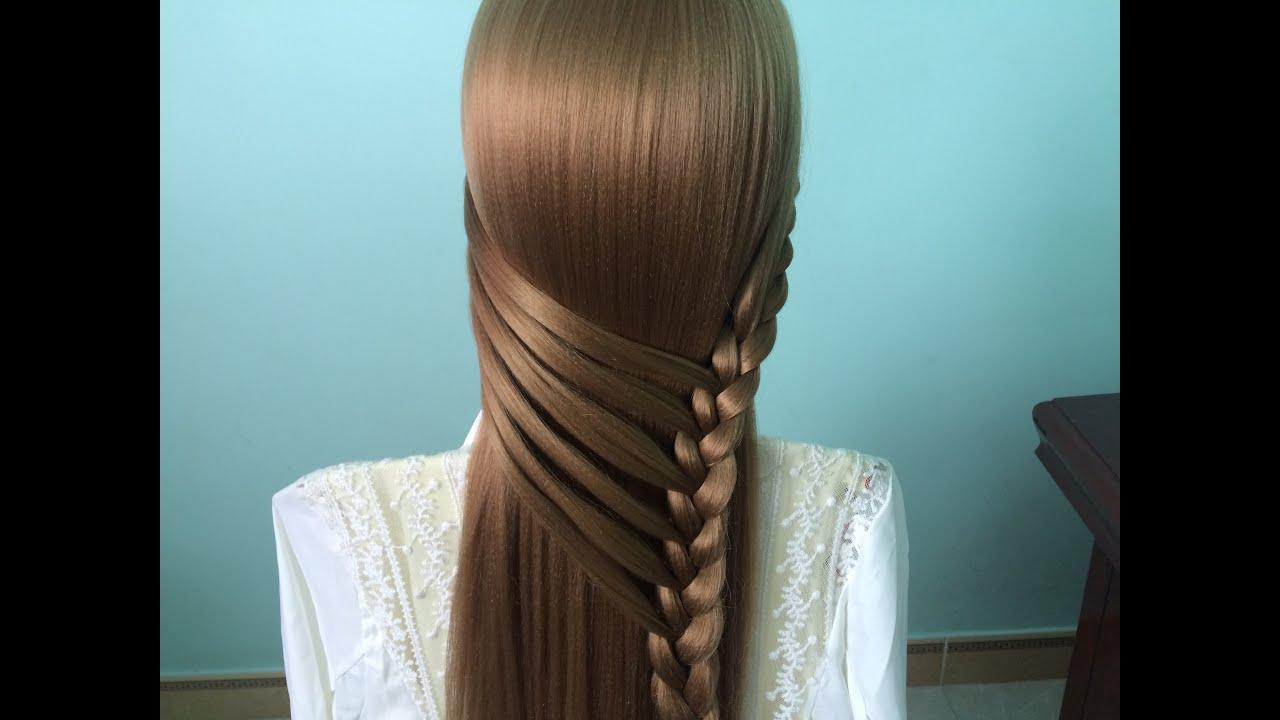 AnaTran – Các kiểu tết tóc dễ thương để đi học