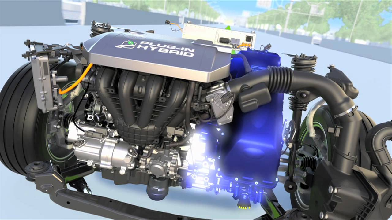 Ford Plugin Hybrid Animation Video See How It Works