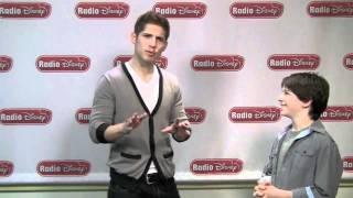 Zachary Gordon Break Dancing With Jake - Celebrity Take with Jake on Radio Disney