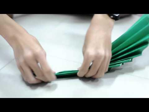 TUp :: วิธีทำใบไม้ by dooponk