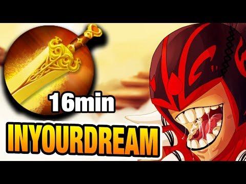 InYourdreaM Dota 2 [Blood Seeker] Mid vs Sniper 16min Radiance
