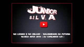MC Livinho e MC Delano   Maliginidade da Putaria    Música nova 2014  DJ Carlinhos S R
