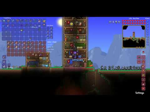 Hardcore Terraria Episode 16 Goblin World War Ii Youtube