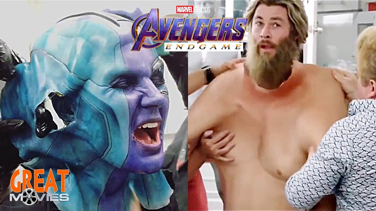 Avengers Endgame Actors Makeup Remove Before And After Greatmovies Youtube