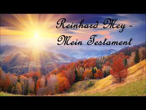 Reinhard Mey  - Mein Testament mit Text / Lyrics
