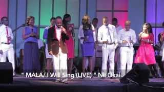 MALA (I will sing) Nii Okai - live with Virtuous