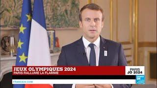 Jeux Olympiques Paris 2024 - Le message d'Emmanuel Macron pour le CIO