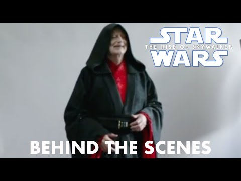 Star Wars The Rise of Skywalker Emperor Palpatine Behind the Scenes