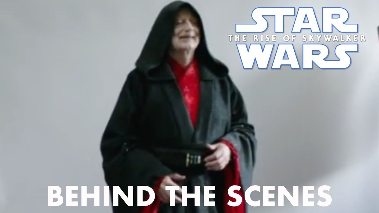 Star Wars The Rise Of Skywalker Emperor Palpatine Behind The Scenes Youtube
