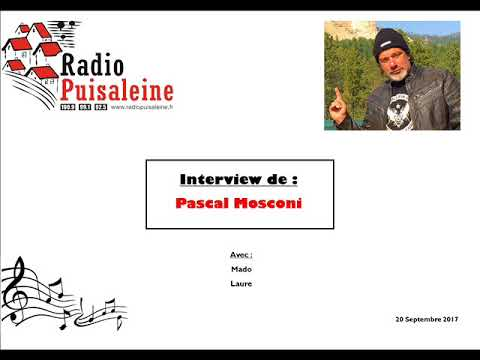 Interview de Pascal Mosconi -  20 Septembre 2017