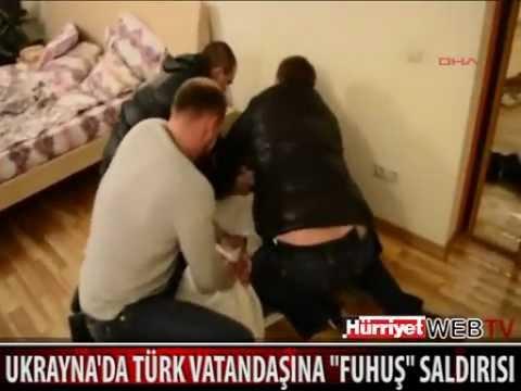 Ukrayna'da Türk'e Kurulan Seks Tuzağı