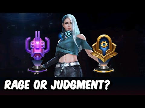 C.T.P Of Judgment Vs Rage Test With T-3 Luna Snow - MARVEL Future Fight