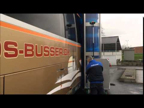 Morclean Drive - Single Brush Vehicle Wash - Portable Brush Wash