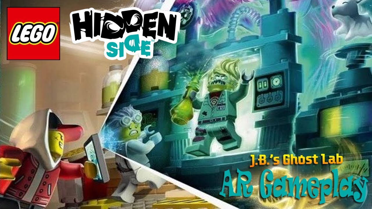 Lego Hidden Side Ar Gameplay Part 1 The Haunting Begins Ios Android Youtube