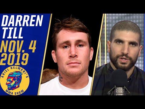 Darren Till describes nerves ahead of UFC 244   Ariel Helwani's MMA Show