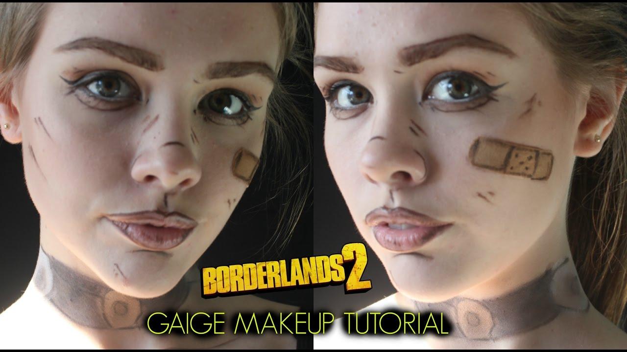 🎨borderlands inspired makeup tutorial | makeup inspiration.