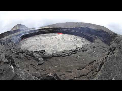 Erta Ale (エルタ・アレ)火山 TimeLapse