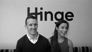 Hinge Couple Gets Engaged in the Hinge Office