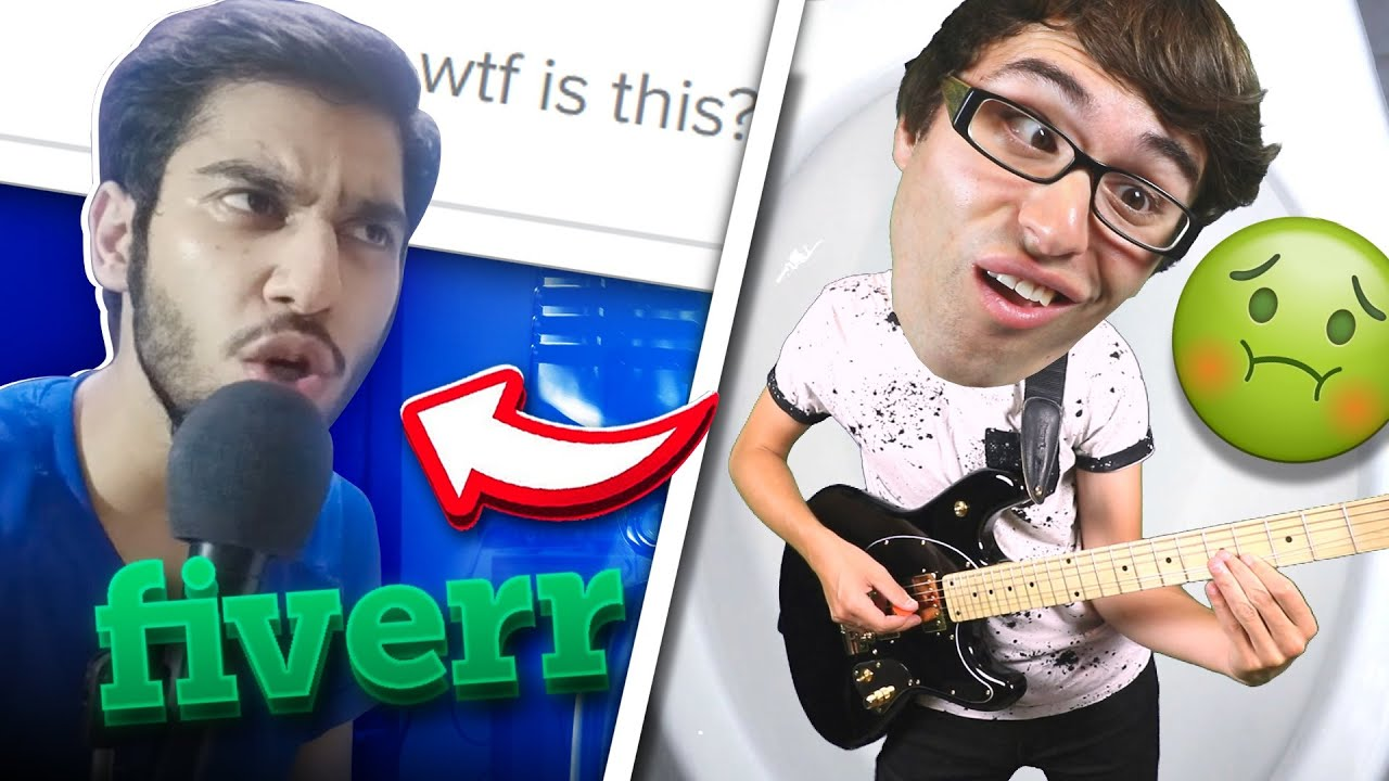I Hired Singers On Fiverr To Sing My WORST SONG EVER!