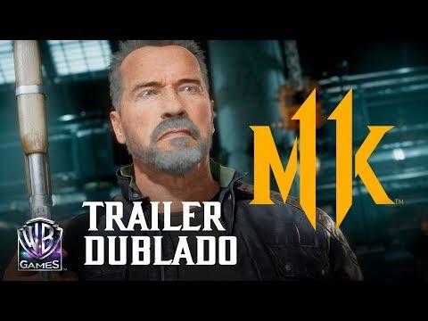 Mortal Kombat 11 - Pacote de Kombate: Exterminador do Futuro T-800 (Trailer Oficial Dublado PT-BR)