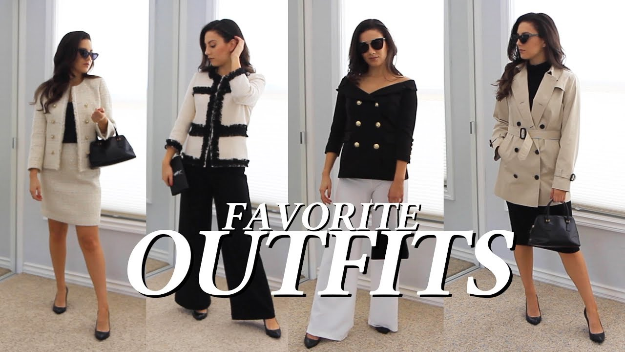 [VIDEO] - 2019 Outfits Styling My Favorite Current Fashion Trends Sophisticated Styles 4