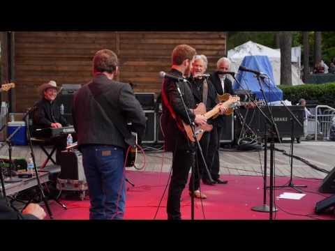 Ben Haggard, Noel Haggard, Kris Kristofferson and The Strangers in Cary, North Carolina
