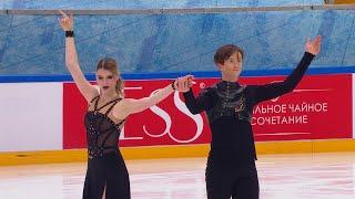 Произвольный танец Танцы на льду Москва Кубок России по фигурному катанию 2020 21 Пятый этап