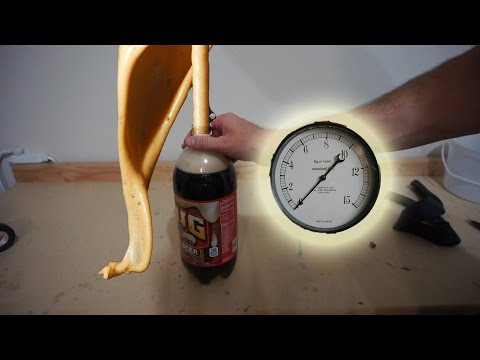Does Shaking Soda Really Increase Pressure? | Experiment