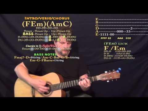 679 (Fetty Wap) Guitar Lesson Chord Chart - Capo 2nd Fret