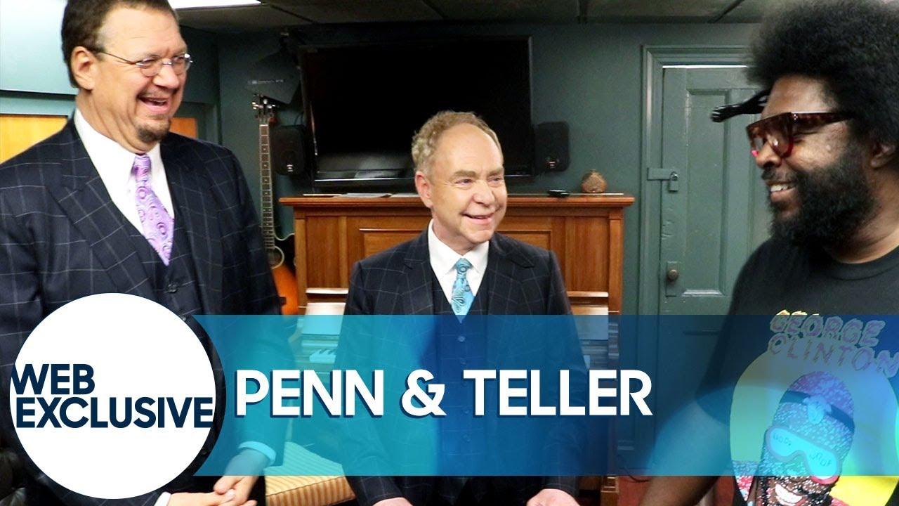 Penn & Teller Trick Questlove with Mints