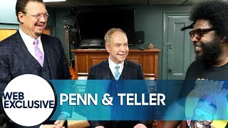 Penn & Teller Trick Questlove with Mints