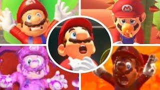 Super Mario Odyssey - All Death Animations