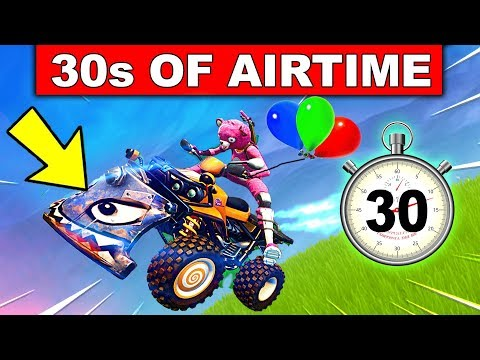 """GET 30s OF AIRTIME ON A VEHICLE"" - WEEK 9 CHALLENGES FORTNITE SEASON 6"