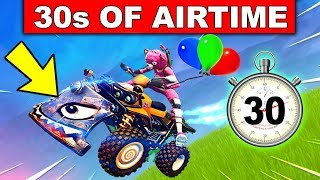 """GET 30s OF AIRTIME ON A VEHICLE"" - SEMAINE 9 CHALLENGES FORTNITE SEASON 6"