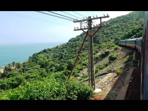 See Vietnam's Stunning Coastline by Train - Hue to Da Nang - 4K