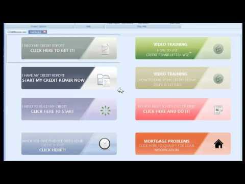 Credit Repair Letter Wiz Training Video 2