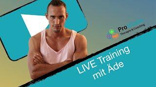 LIVE Bodyweighttraining mit Äde MI 08.07.20
