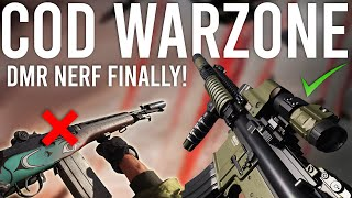 Call of Duty Warzone DMR NERF FINALLY!