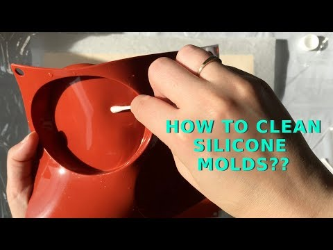 How to Clean Silicone Molds