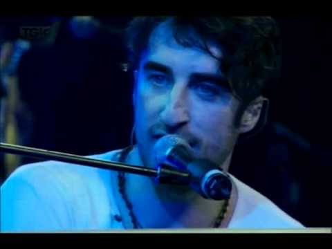 The Coronas singing Someone else's hands live in Marlay Park,Dublin in July 2011