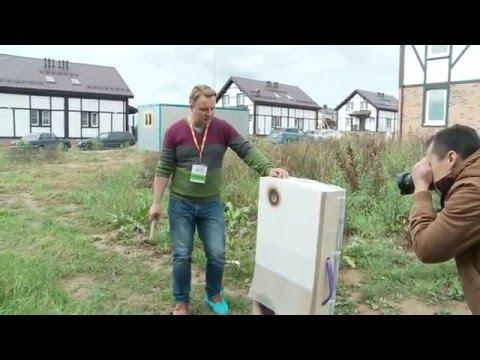 Строительство дома: испытания панели дома