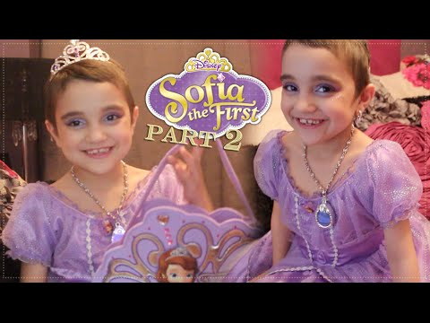 7bc78c4a6 Sofia The First Inspired Makeup Tutorial (Disney Princess) Halloween  edition part 2