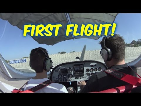 Private Pilot's License--Lesson #1--Introductory Flight (Discovery Flight)